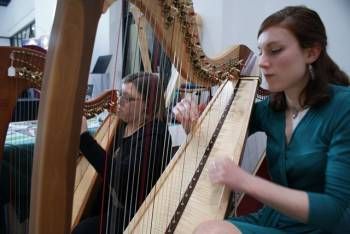 Fantastic weekend at the RWCMD International Harp Festival