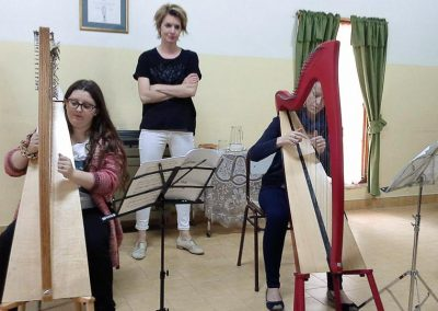Harp workshop with Catrin Finch - Gaiman Music School 2-3