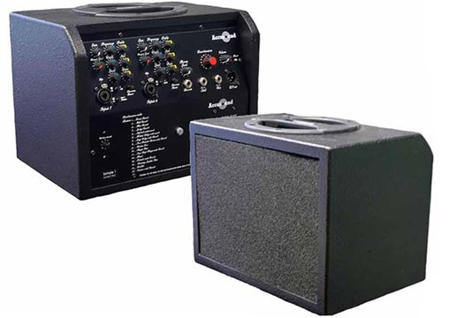 Harp amplifiers by Accusound