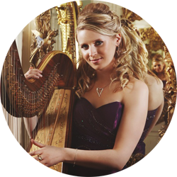 Royal Harpist Claire Jones