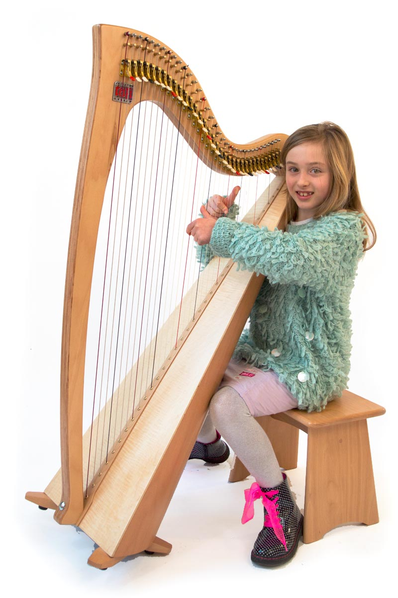 Harpist with eos