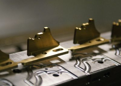 Our famous semitone levers in production