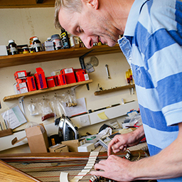 the telynau teifi harp workshop