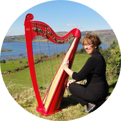 Irish Harpist Patricia Daly