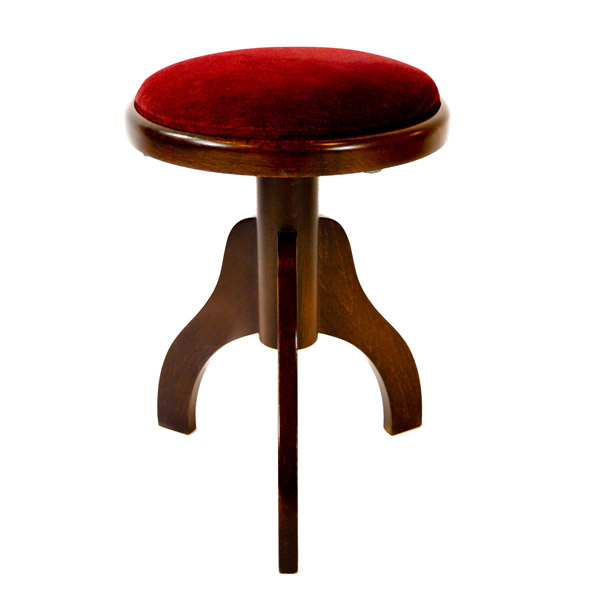 Round Adjustable Harp Stool