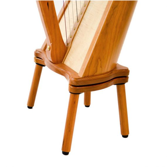 Telor Detachable Harp Legs & Sub Base in Cherry wood